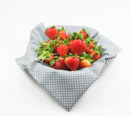 Strawberry isolatred on white background