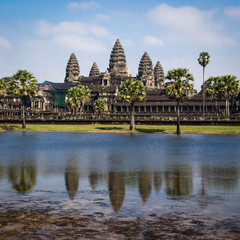 The Ancient Temple of Angkor Wat, Siem Reap, Cambodia