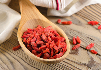 Red goji berries