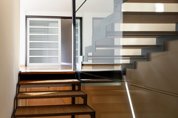 staircase of a modern villa