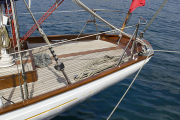 sailboat detail