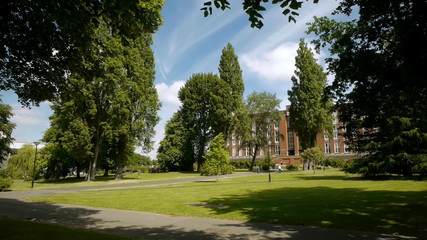 Birmingham University - University Square.