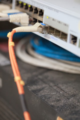 Fiber Wire connected Internet on Hup