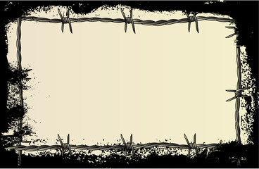 Barbed Wire Grunge