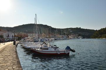 Paxos Grecia ed il porto turistico