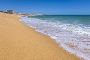Vilamoura resort coastline, South of Portugal