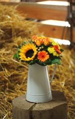 ländliche Blumen