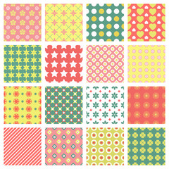 fashionable seamless patterns