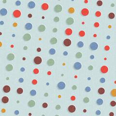abstract retro polka dot background - vector illustration