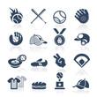 Baseball icon set - 66736575
