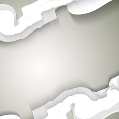 Abstract business gray background - Vector illustration