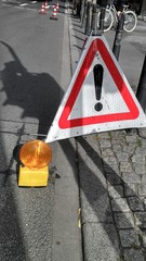 Caution roadwork