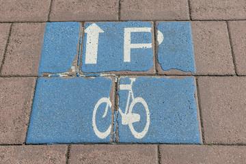 Parkplatz für Fahrräder in Hilversum