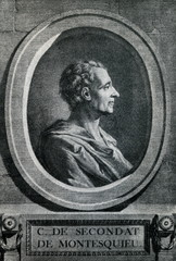 Montesquieu, French lawyer and man of letters
