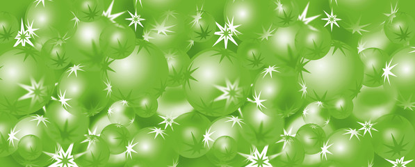 Christmas baubles 8 – green