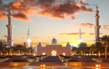 Meczet Sheikh Zayed, Zjednoczone Emiraty Arabskie w Abu Dhabi