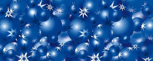 Christmas baubles 9 – blue
