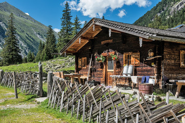 Alm im Salzburger Land