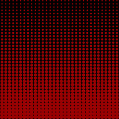 Circles black and red background