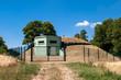Leinwanddruck Bild - Bunker