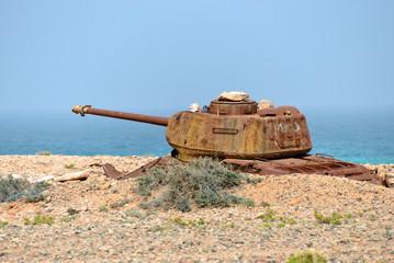 Socotra, battle tank, Yemen