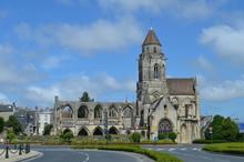 Eglise St-Etienne-le-Vieux (XIème siècle) à Caen (Normandie)