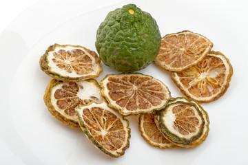 Fresh or dried bergamot