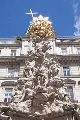 Plague Column in Vienna, Austria
