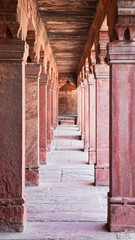 Columns at Fatehpur Sikri in India