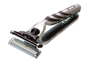 Beard shaving razor