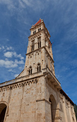 Belfry (XVI c.) of Saint Lawrence Cathedral. Trogir, Croatia