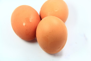 three egg