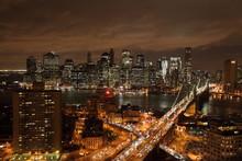 壁紙(ウォールミューラル) - ニューヨークの夜景
