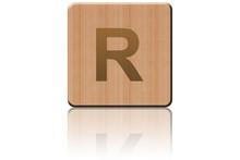 Carré de bois R