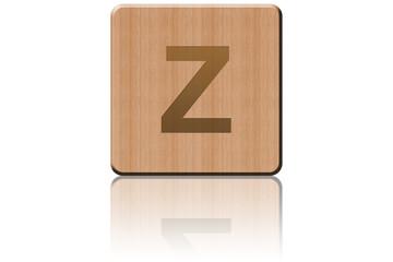 Carré de bois Z