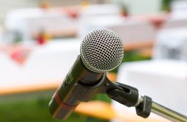 Ansprache Mikrofon