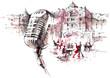 retro microphone - 66752522