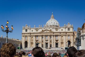 Giorno di udienza in S.Pietro-Roma