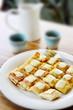 Roti with chesse