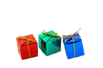 Tre små paket