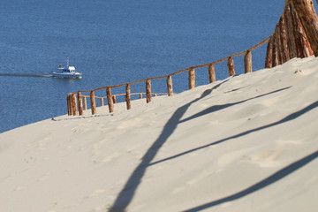 Sandy Dunes on the Curonian Spit .