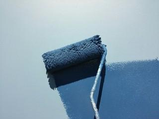 Malern einer Wand