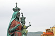 Leinwandbild Motiv Santa Maria di Castellabate, Salerno - Cilento la Madonna