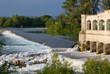 Lock on Isonzo River near Sagrado