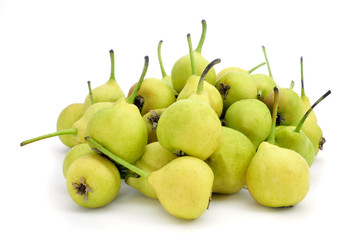 peras de San Juan, typical spanish small pears