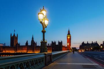 London zur blauen Stunde