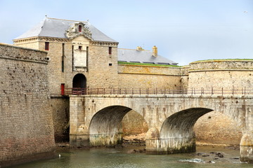 Citadel of  Port Louis in the Morbihan d Brittany, France