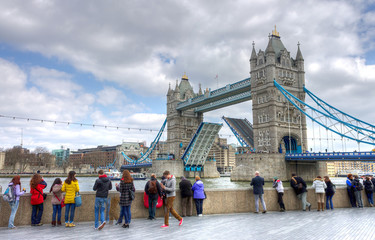 UK, England, London, the Tower Bridge