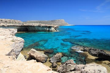 Cyprus Sea Caves - Cape Greco coast