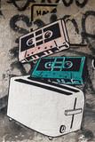 Graffiti e street art in Berlino, Germania